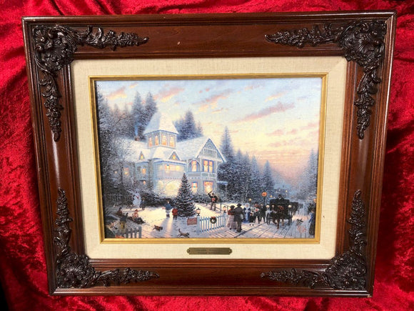 Thomas Kinkade - Victorian Christmas I - Limited Edition Print