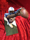 Marvin Harrison Colts Certified Authentic Autographed Mini-helmet Shadowbox