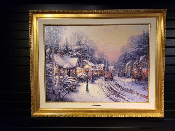 Thomas Kinkade - Village Christmas - Christmas Cottage VIII - Print