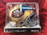 Hugh McElhenny 49ers Certified Authentic Autographed Football Mini Helmet