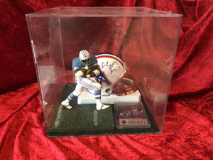 Earl Campbell Oilers Certified Authentic Autographed Mini-helmet Ballcube