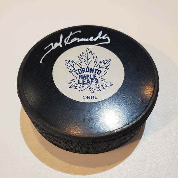 Ted Kennedy Guaranteed Authentic Autographed Hockey Puck