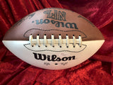 Johnny Unitas Colts Possibly Authentic Autographed Football Shadowbox