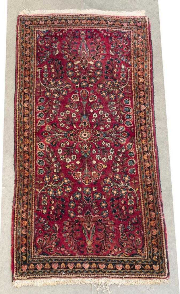 American Saroukh Hand Knotted Rug