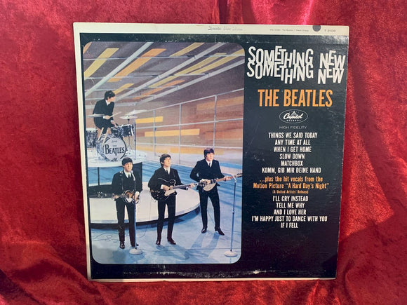 The Beatles SOMETHING NEW VG++ 33 LP Album