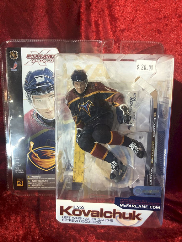 Alya Kobalchuk McFarlane NHL Series 4 Hockey Figure
