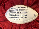Emmitt Smith Dallas Cowboys Certified Authentic Autographed Football