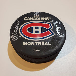 Maurice Richard Guaranteed Authentic Autographed Hockey Puck