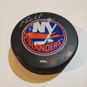 Billy Smith Certified Authentic Autographed Hockey Puck