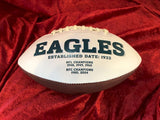 Carson Wentz Philadelphia Eagles Certified Authentic Autographed Football