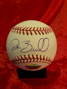 Pat Burrell Certified Authentic Autographed Baseball