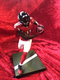 Julio Jones Falcons Certified Authentic Autographed Football Patch Shadowbox
