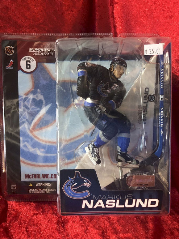 Markus Naslund McFarlane NHL Series 5 Hockey Figure