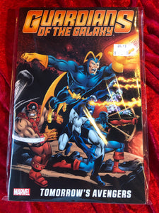 Guardians of the Galaxy Tomorrow's Avenger Volume 1 tpb  Graphic Novel