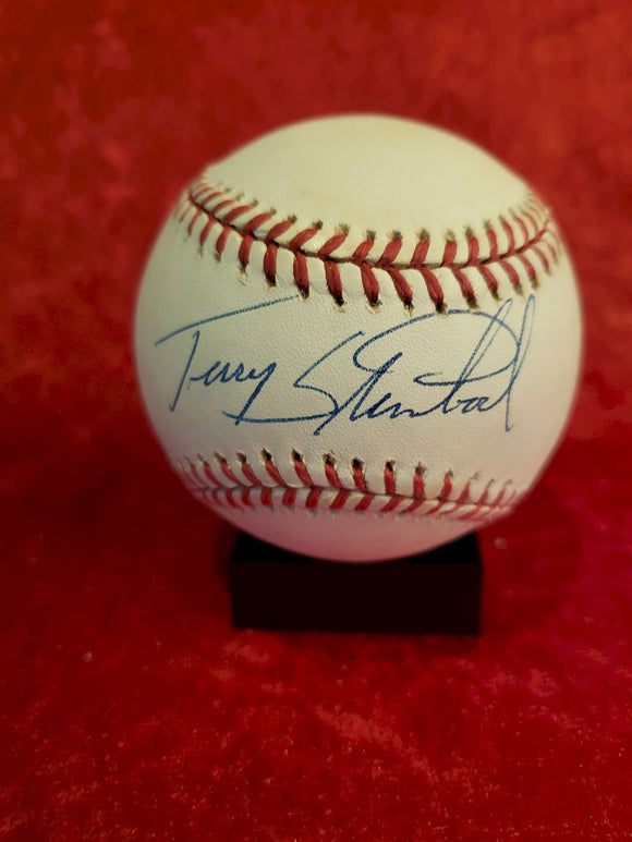 Terry Steinbach Guaranteed Authentic Autographed Baseball