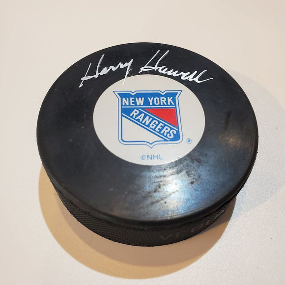 Harry Howell Certified Authentic Autographed Hockey Puck
