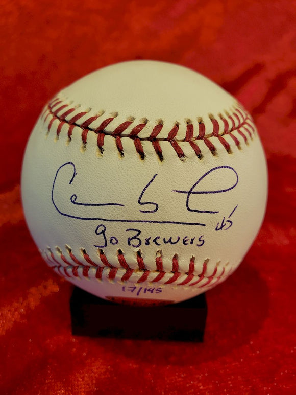 Carlos Lee Certified Authentic Autographed Baseball