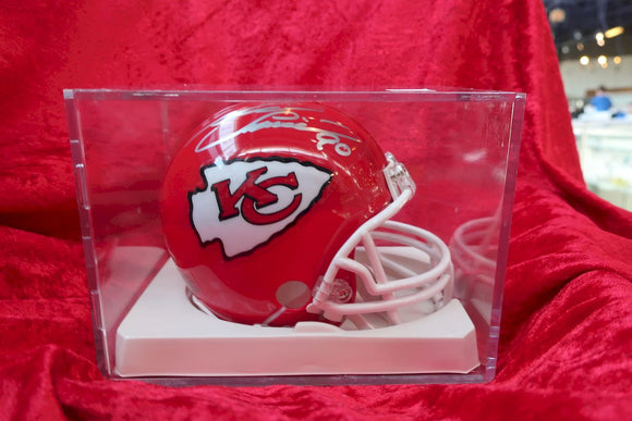 Neil Smith Chiefs Autographed Certified Authentic Football Mini Helmet