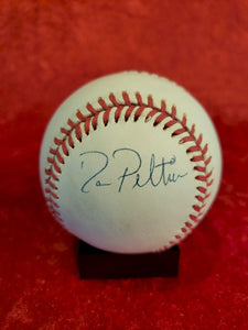 Dan Patterson Guaranteed Authentic Autographed Baseball