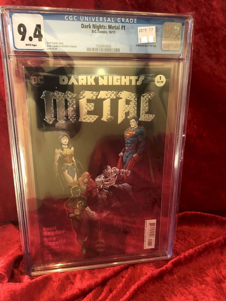 Dark Knights: Metal #1- 2017- Certified Authentic CGC 9.4 Comic Book