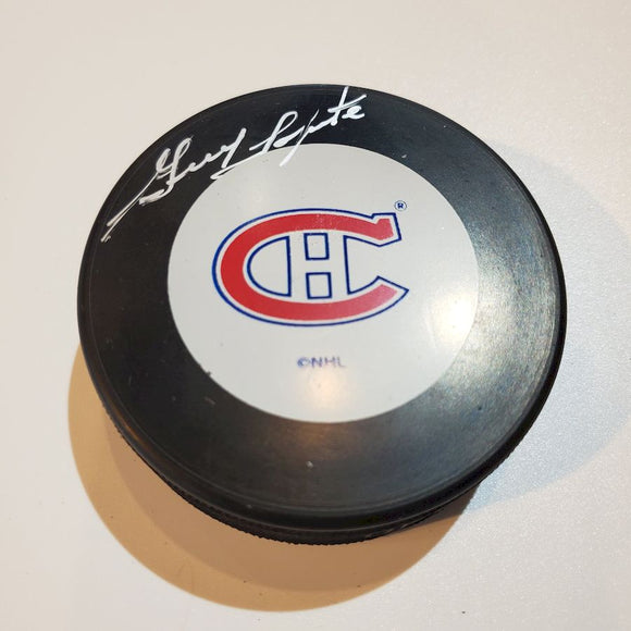 Guy LaPointe Certified Authentic Autographed Hockey Puck