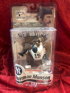 Thurman Munson McFarlane MLB Cooperstown Collection Series 7 Baseball Figure