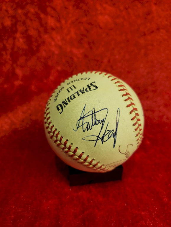 Sara Michelle Geller Guaranteed Authentic Autographed Baseball