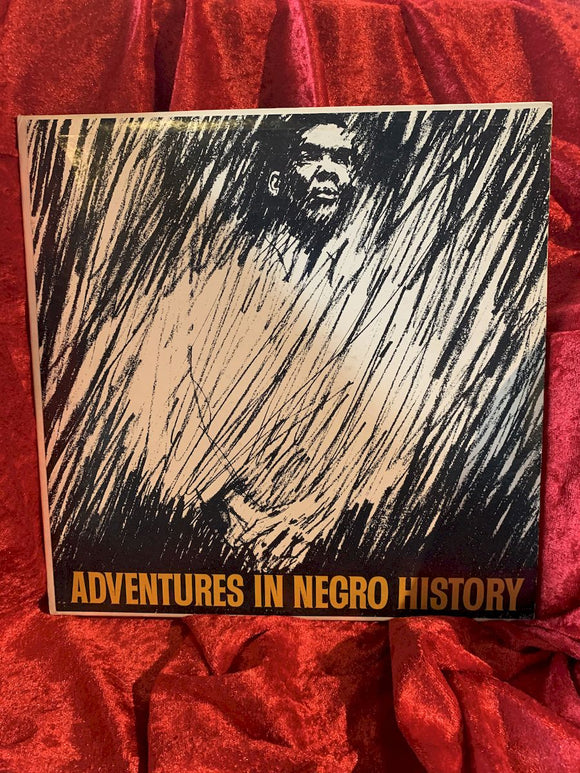 Adventures in Negro History Educational 33 LP Album