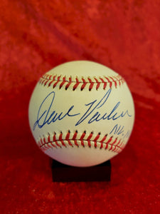 Dave Parker Guaranteed Authentic Autographed Baseball