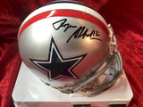 Roger Staubach Cowboys Certified Authentic Autographed Mini Helmet Shadowbox