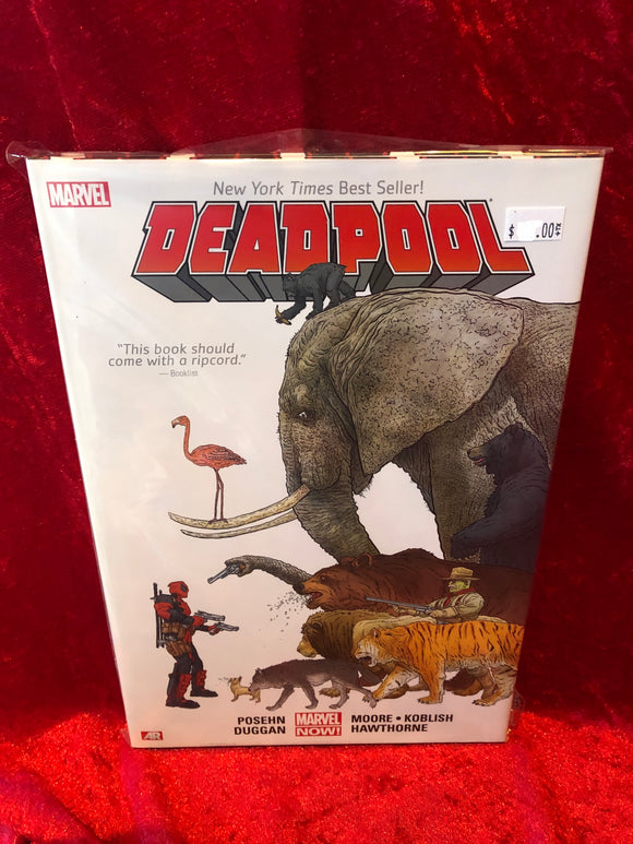Deadpool - Volume 1- 2014- VF/ NM Hard Cover Graphic Novel