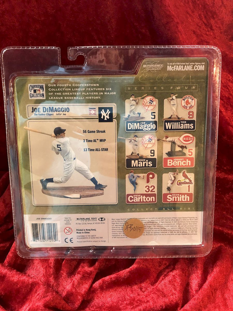 Joe Dimaggio McFarlane MLB Cooperstown Collection Series 4 Baseball Figure