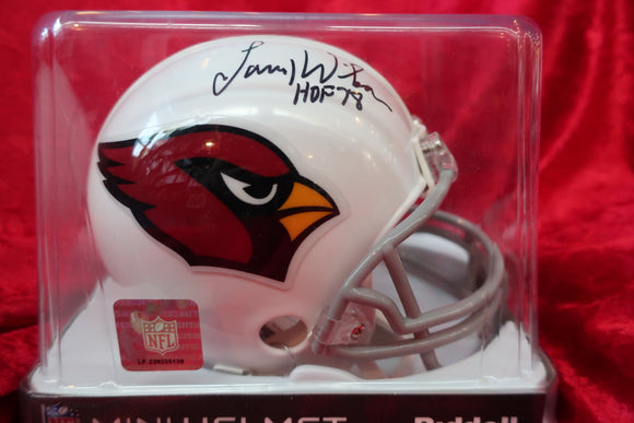 Larry Wilson Cardinals Autographed Certified Authentic Football Mini Helmet