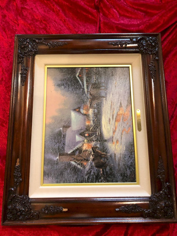 Thomas Kinkade - Christmas Cottage VII - Limited Edition Print
