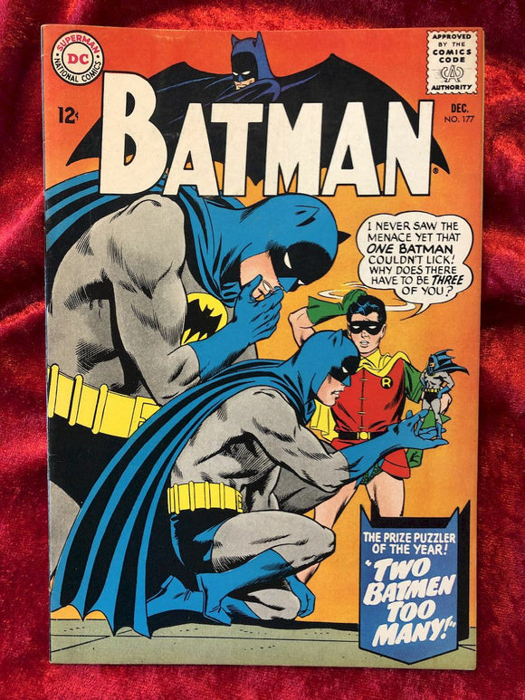 Batman #177 1965 Comic Book
