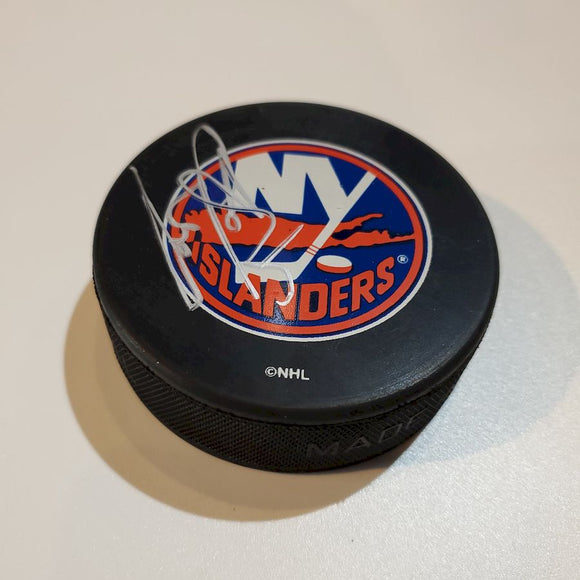 Dennis Potvin Certified Authentic Autographed Hockey Puck