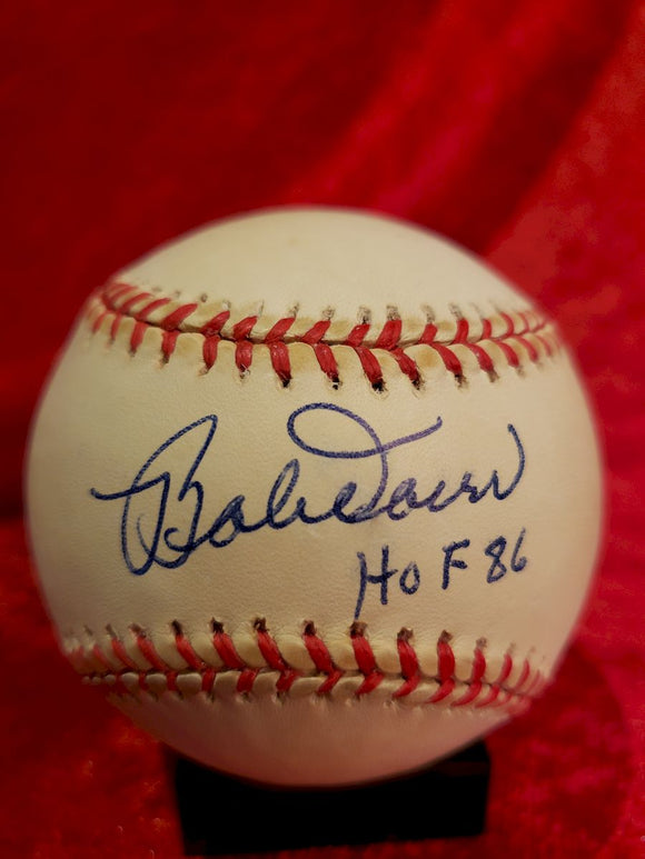 Bob Doerr Guaranteed Authentic Autographed Baseball