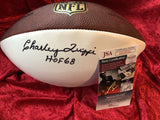 Charlie Trippi Cardinals Certified Authentic Autographed Football Shadowbox