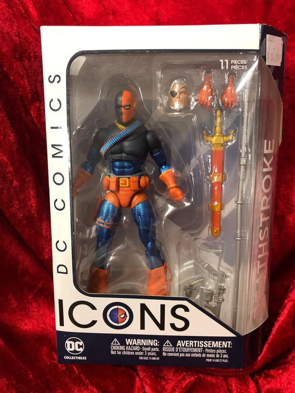 Deathstroke- DC Comics ICONS Action Figure