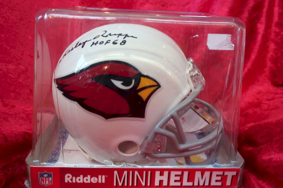 Charlie Trippi Cardinals Autographed Certified Authentic Football Mini Helmet