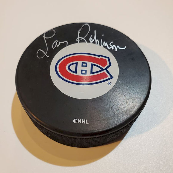 Larry Robinson Guaranteed Authentic Autographed Hockey Puck