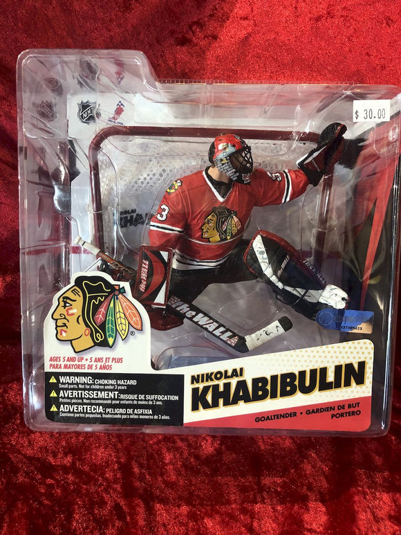 Nikolai Khavivulin McFarlane NHL Series 12 Hockey Figure