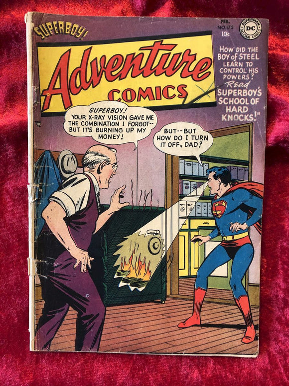 Adventure Comics #173 1952 Comic Book