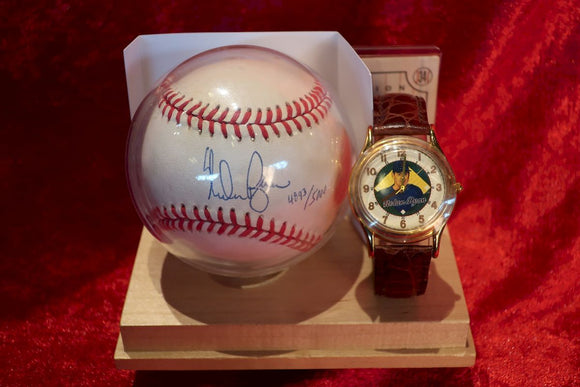 Nolan Ryan Certified Authentic Autographed Baseball
