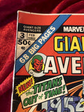 Avengers Giant Size #3 1975 Comic Book