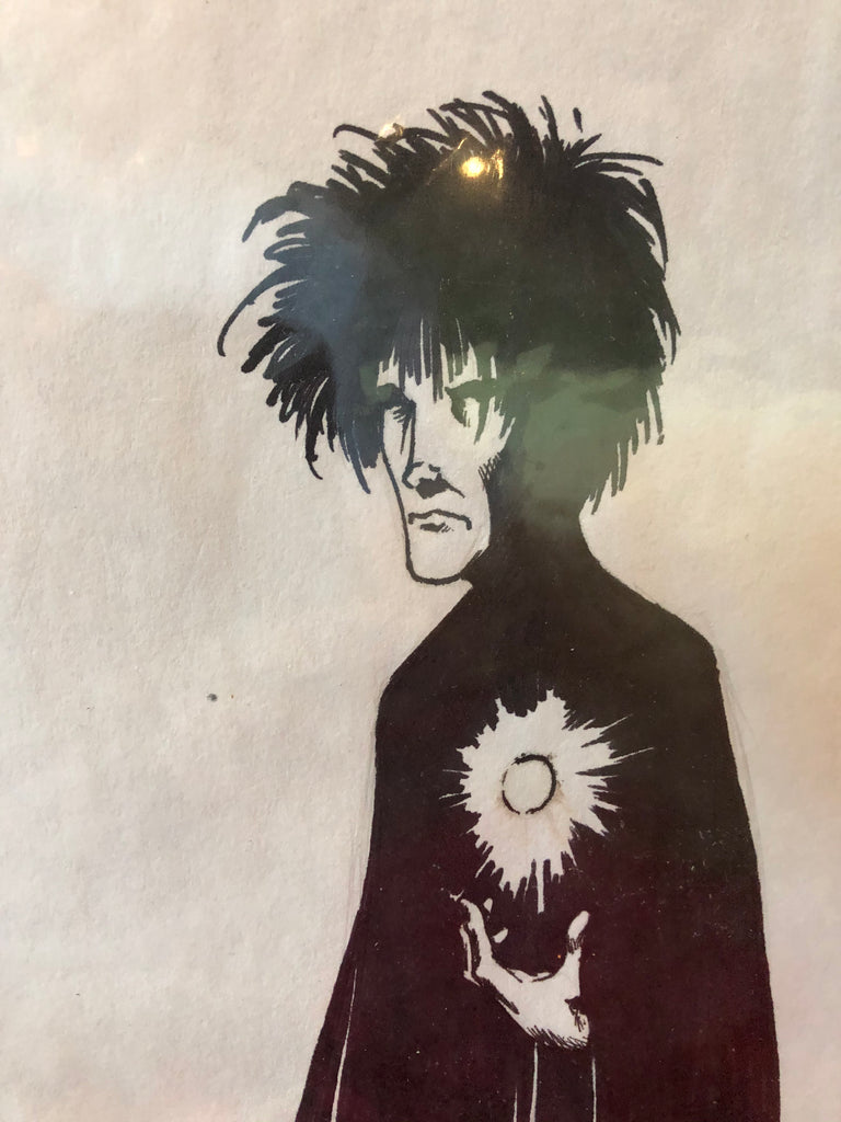 Sandman sketch by Kelsey Shannon Fantasy 1996 NM Sketch