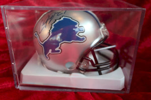 Calvin Johnson Lions Autographed Certified Authentic Football Mini Helmet