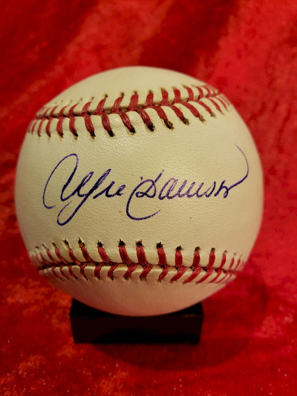 Andre Dawson Guaranteed Authentic Autographed Baseball