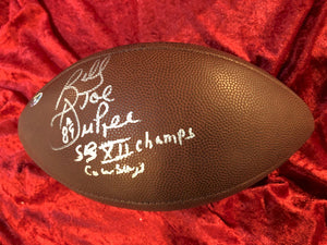 Billy Joe Dupree Dallas Cowboys Certified Authentic Autographed Football