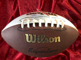 Merlin Olsen Los Angeles Rams Certified Authentic Autographed Football